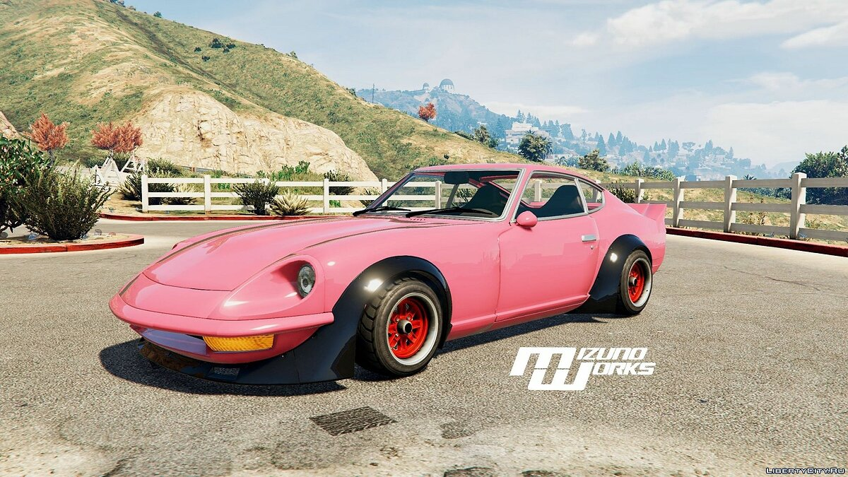 Mizuno Works 1971 Nissan 240Z (Replace) 0.1 для GTA 5 - скриншот #2