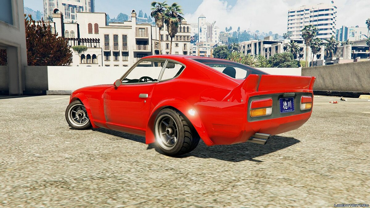 Mizuno Works 1971 Nissan 240Z (Replace) 0.1 для GTA 5 - скриншот #3