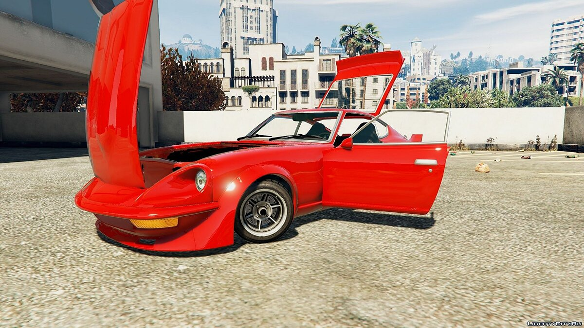 Mizuno Works 1971 Nissan 240Z (Replace) 0.1 для GTA 5 - скриншот #4