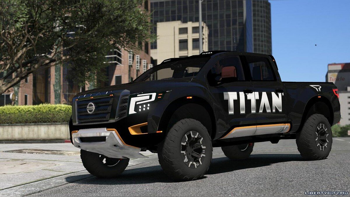 Nissan Titan Warrior 2017 [Add-On / Replace | Livery | Extras] 2.0 для GTA 5