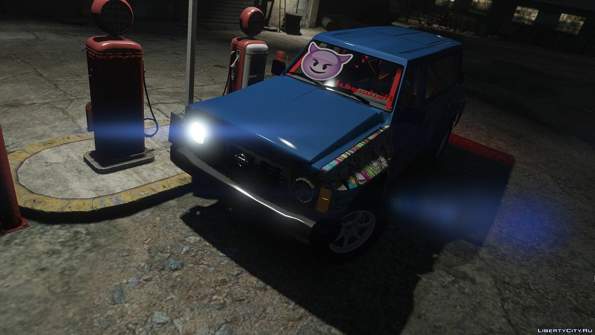 1993 Nissan Patrol Drift [Add-On / Replace] 1.1 для GTA 5