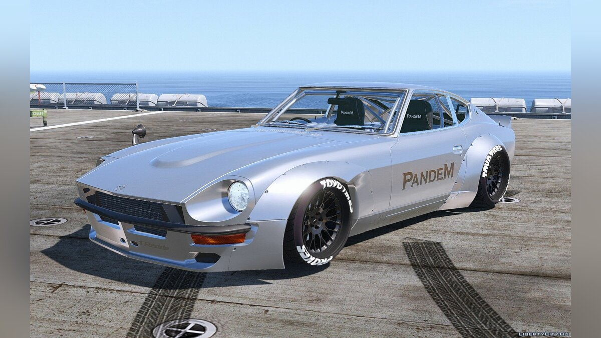 1969 Pandem Nissan S30 [Add-On | RHD | 4K Template] 1.2 для GTA 5