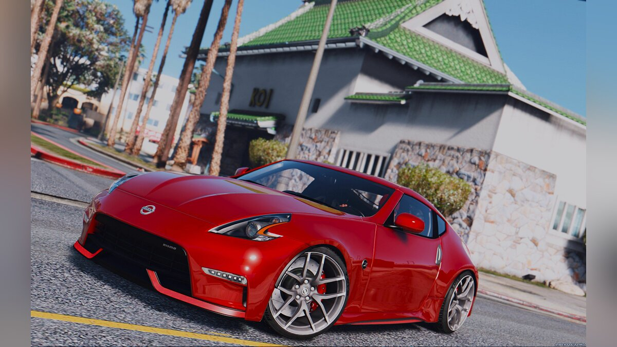 2016 Nissan 370Z Nismo Z34 [Add-On / Replace] для GTA 5