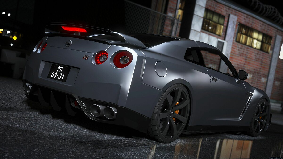 Машина Nissan Nissan GTR (R35) [ Varis | Wald | C-West | TopSecret ] [Add-on] для GTA 5