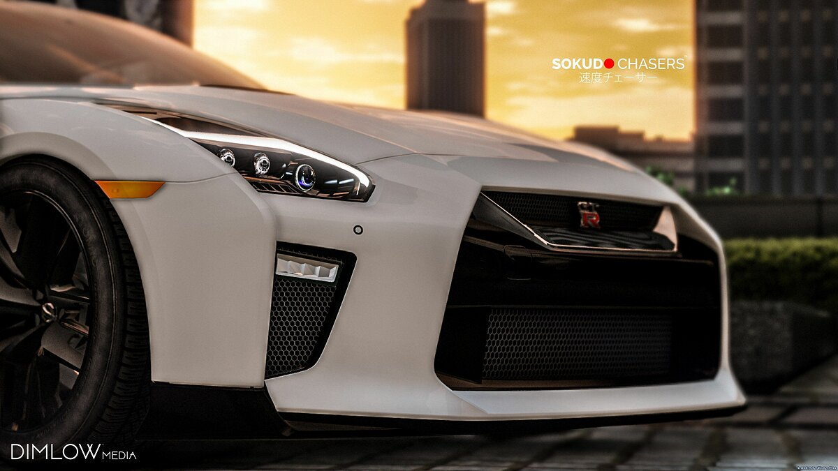 Nissan GT-R 2017 [Add-On / Replace] 1.7 для GTA 5 - скриншот #6