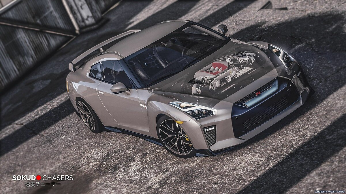 Nissan GT-R 2017 [Add-On] 2.2 для GTA 5 - скриншот #4