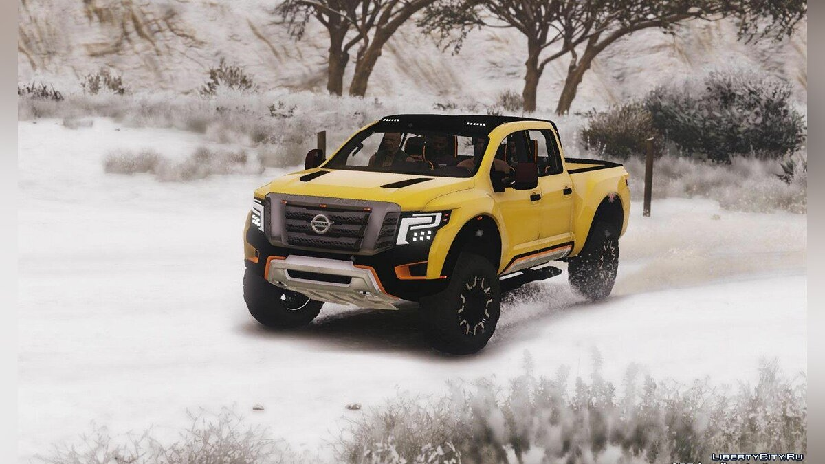 Nissan Titan Warrior 2017 [Add-On / Replace] 1.8 для GTA 5