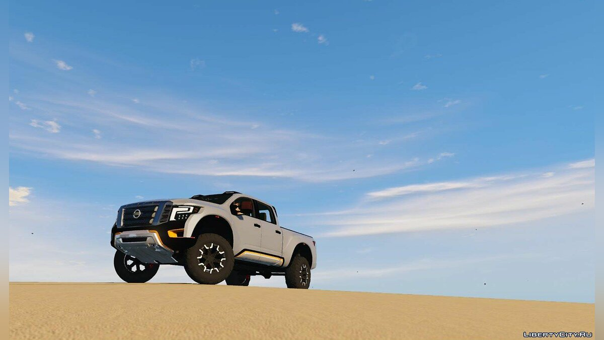 Nissan Titan Warrior 2017 [Add-On / Replace] 1.8 для GTA 5 - скриншот #2