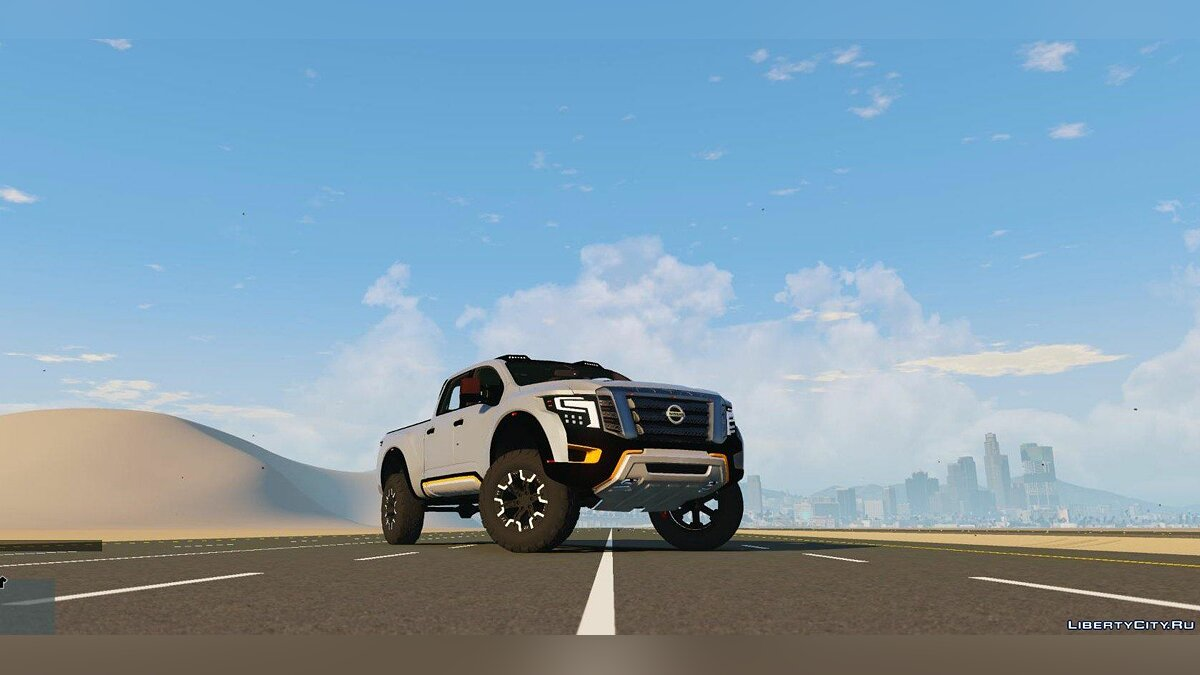 Nissan Titan Warrior 2017 [Add-On / Replace] 1.8 для GTA 5 - скриншот #3
