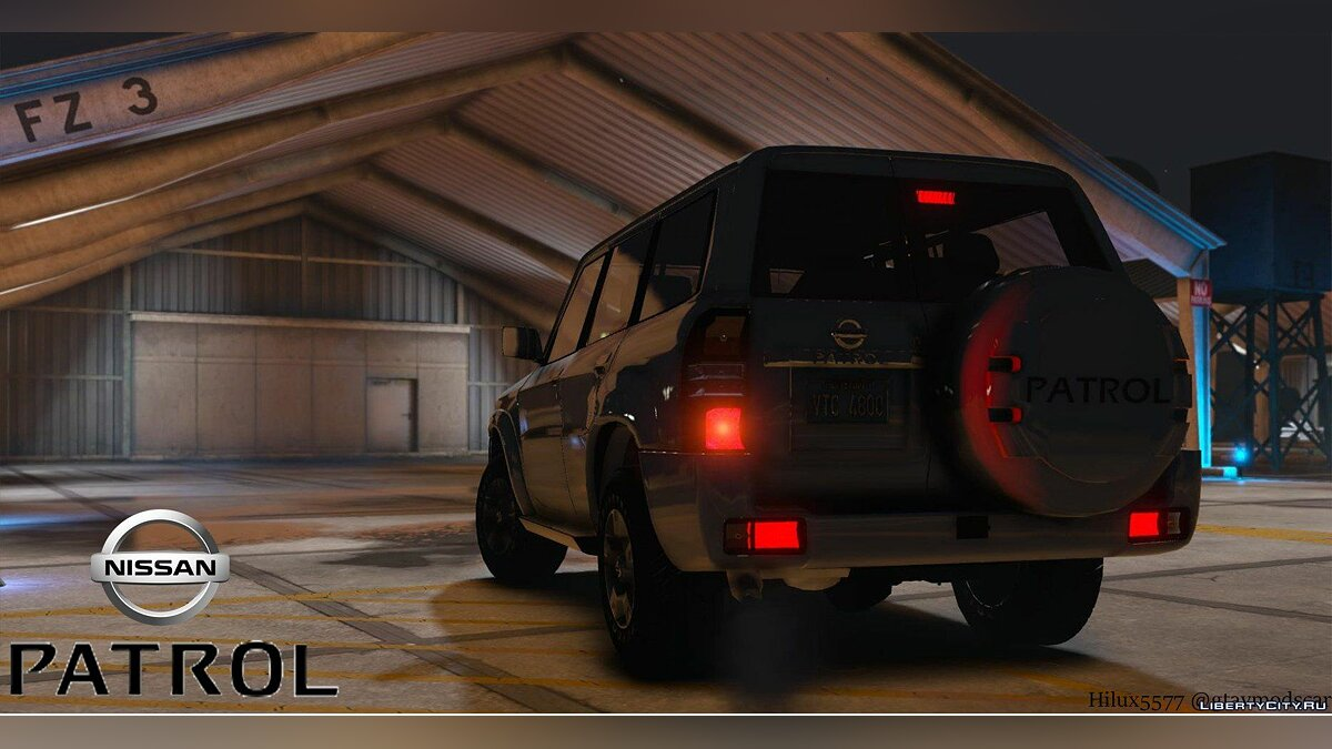 Nissan Patrol Super Safari VTC Y61 4800 2016 4-door [Add-On | Replace | Livery | Extras | Dirt | Template] 1.1 для GTA 5 - скриншот #2