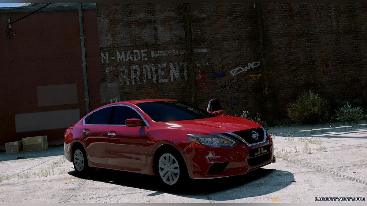 2017 Nissan Altima [Replace] HQ 1.1 для GTA 5