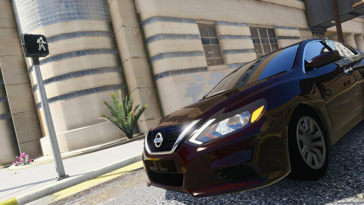 2017 Nissan Altima [Replace] HQ 1.1 для GTA 5 - скриншот #3