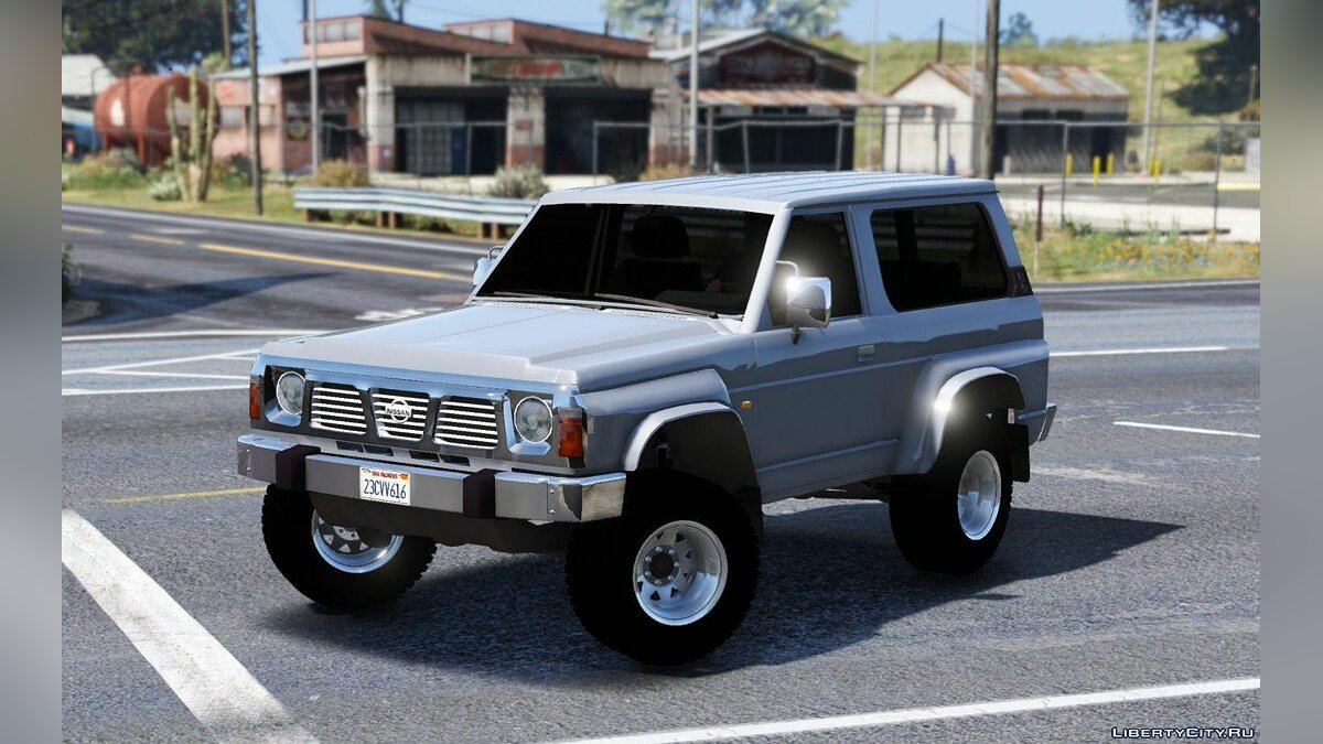 Nissan Patrol Y60 Off Road 1994 [Add-On / Replace | 7 Extras] 1.5 для GTA 5 - скриншот #4