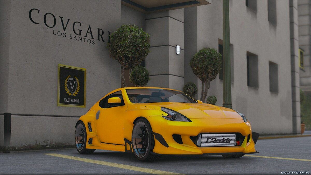 "Nissan 370z ""Pandem"" [Add-On / Replace] 0.2 для GTA 5"
