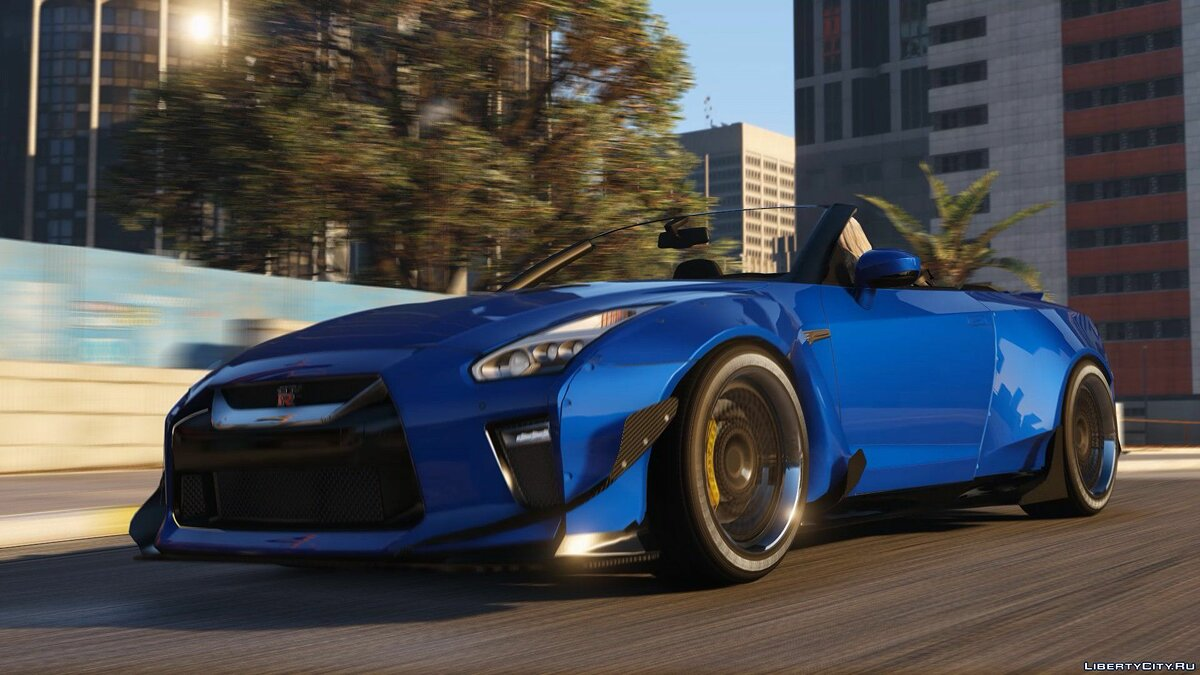 2017 R35 Nissan GTR Convertible (Standard + Widebody) [Add-On / Replace] 0.1 для GTA 5