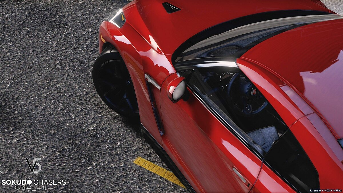 ��ашина Nissan Nissan GT-R 2017 [Add-On / Replace] 2.0 для GTA 5