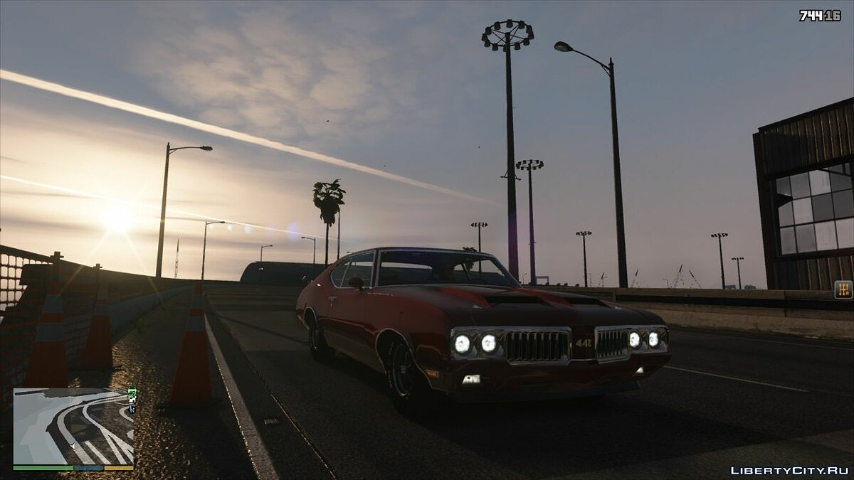 Машина Oldsmobile Oldsmobile 442 '1970 [Replace / Tuning] 1.0 для GTA 5