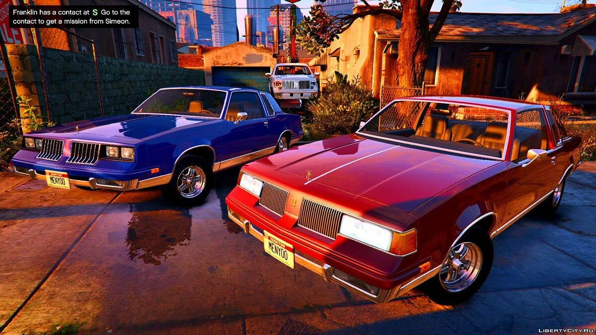 Машина Oldsmobile 1984 Oldsmobile Cutlass beta 1.0 для GTA 5