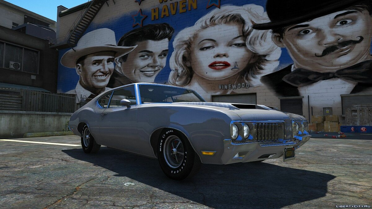 Машина Oldsmobile 1970 Oldsmobile 442 [Add-on version/ Tuning] 1.0 для GTA 5