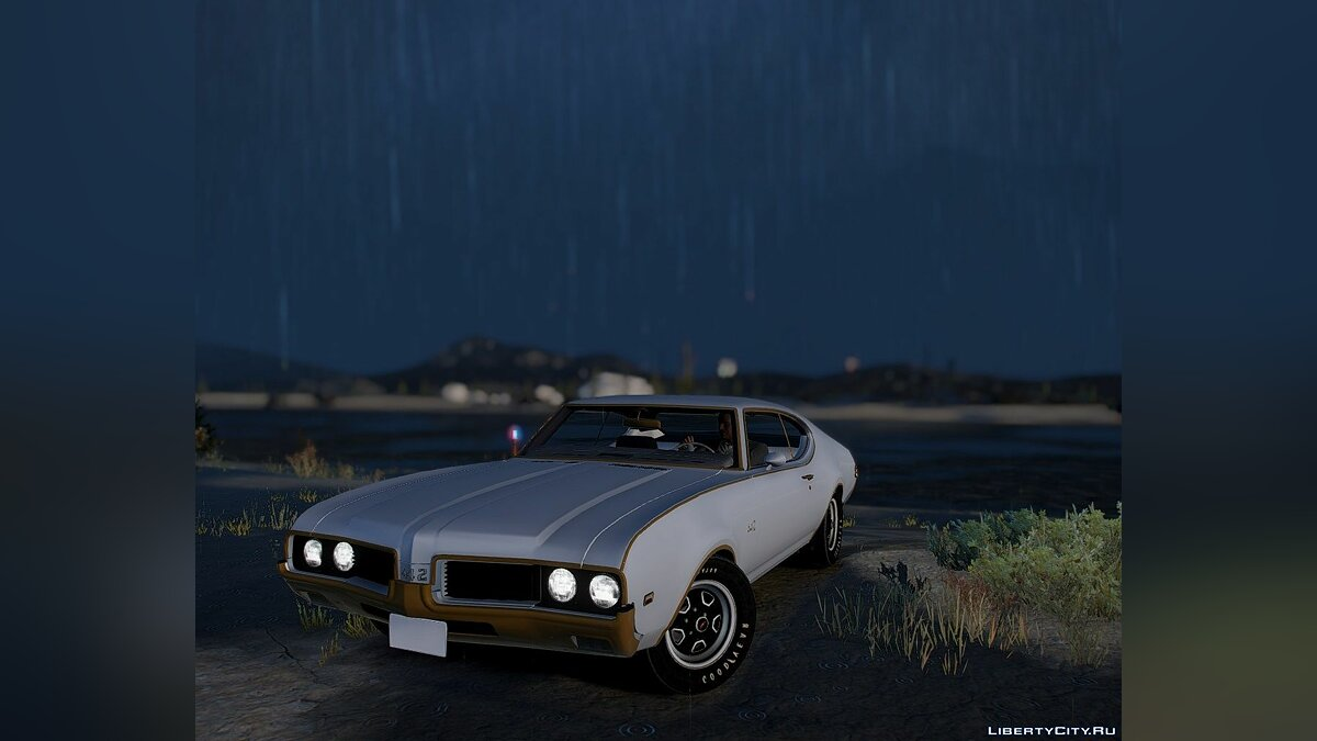 Машина Oldsmobile 1969 Oldsmobile Hurst/Olds 442 [Add-On] 1.0 для GTA 5