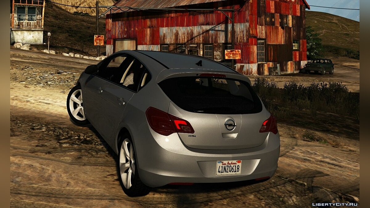 Машина OPEL Opel Astra J [Add-On] v1.1 для GTA 5