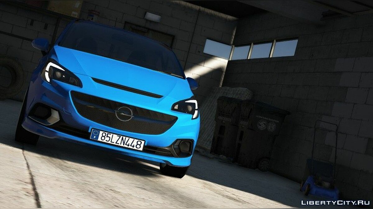 Машина OPEL Opel Corsa E (Add-on/Replace) 1.0 для GTA 5