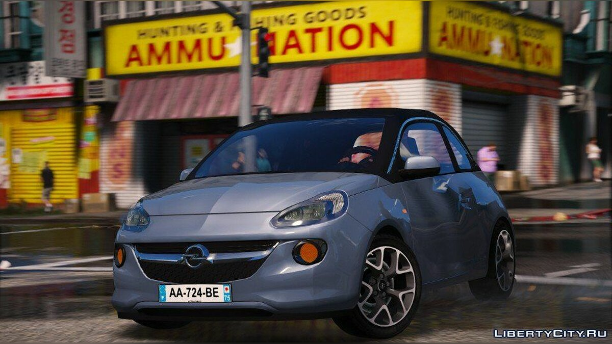 Машина OPEL Opel Adam (Add-on) 1.0 для GTA 5