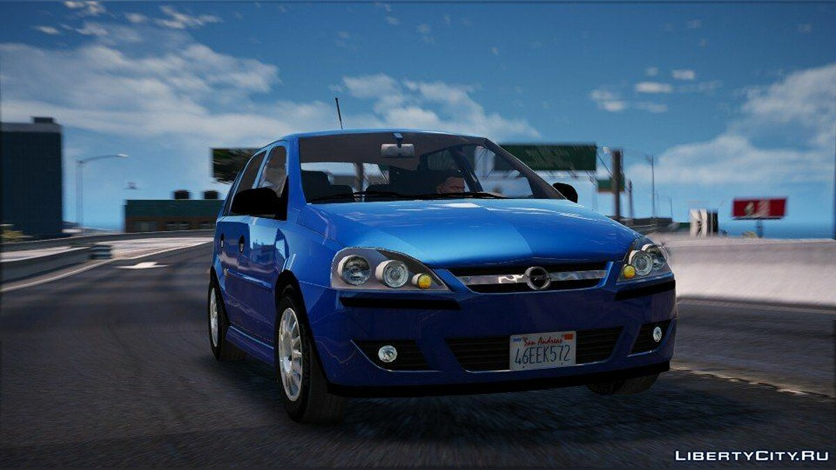 Машина OPEL Opel Corsa 2005 (REPLACE/ADD-ON) 1.2 для GTA 5