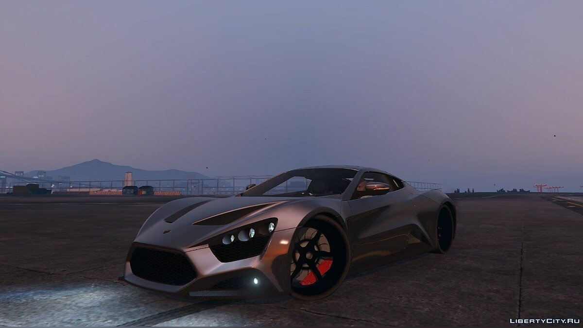 Zenvo ST1 [Add-on] 1.0 для GTA 5
