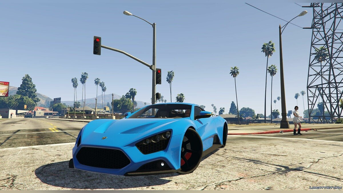 Zenvo ST1 [Add-on] 1.0 для GTA 5 - скриншот #3