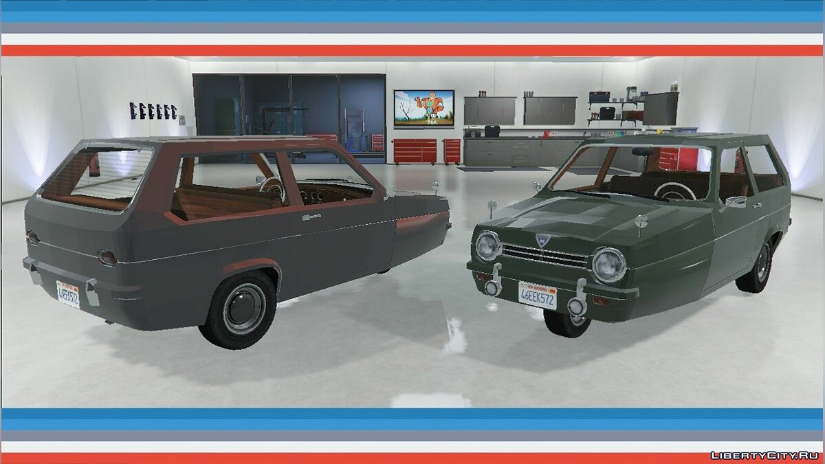 Reliant Robin Mk.1 [Add-On / Replace] 1.0 для GTA 5