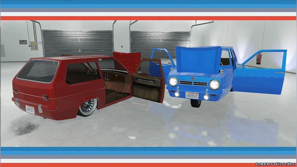 Reliant Robin Mk.1 [Add-On / Replace] 1.0 для GTA 5 - скриншот #2