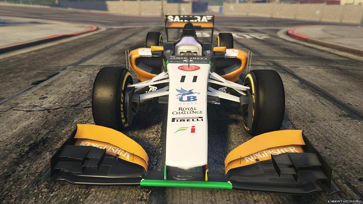 Force India2 F1 [+ Add-On] для GTA 5 - скриншот #2