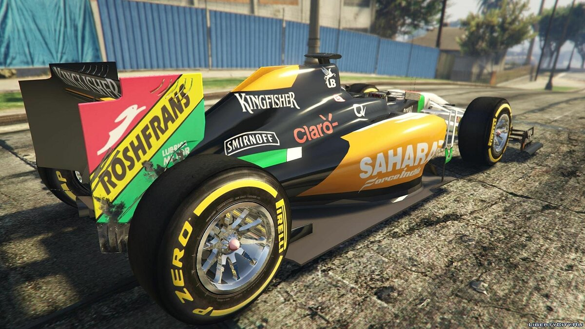Force India2 F1 [+ Add-On] для GTA 5