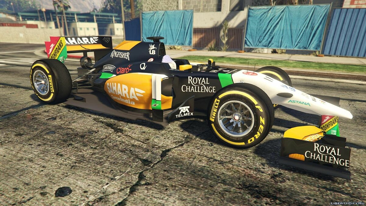Force India2 F1 [+ Add-On] для GTA 5 - скриншот #4