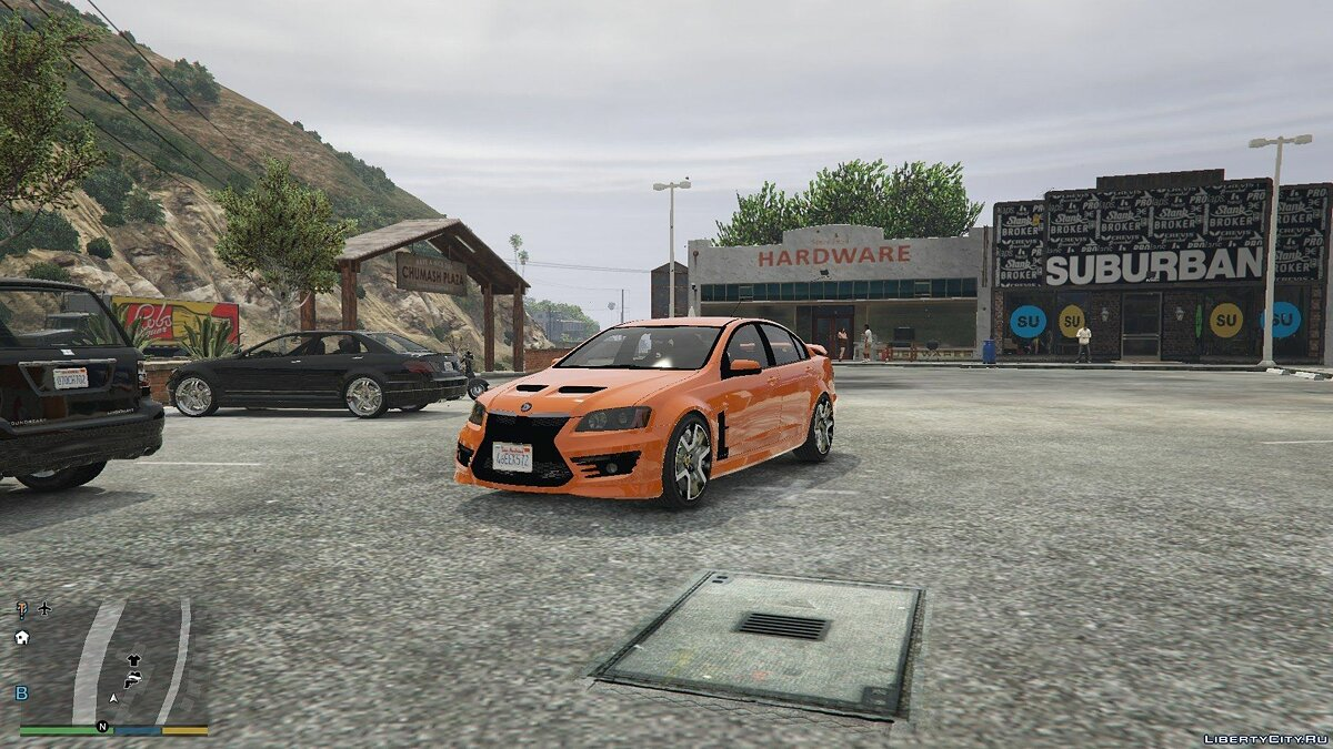 2011 Holden HSV GTS 0.6 для GTA 5