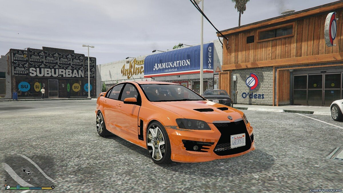 2011 Holden HSV GTS 0.6 для GTA 5 - скриншот #2