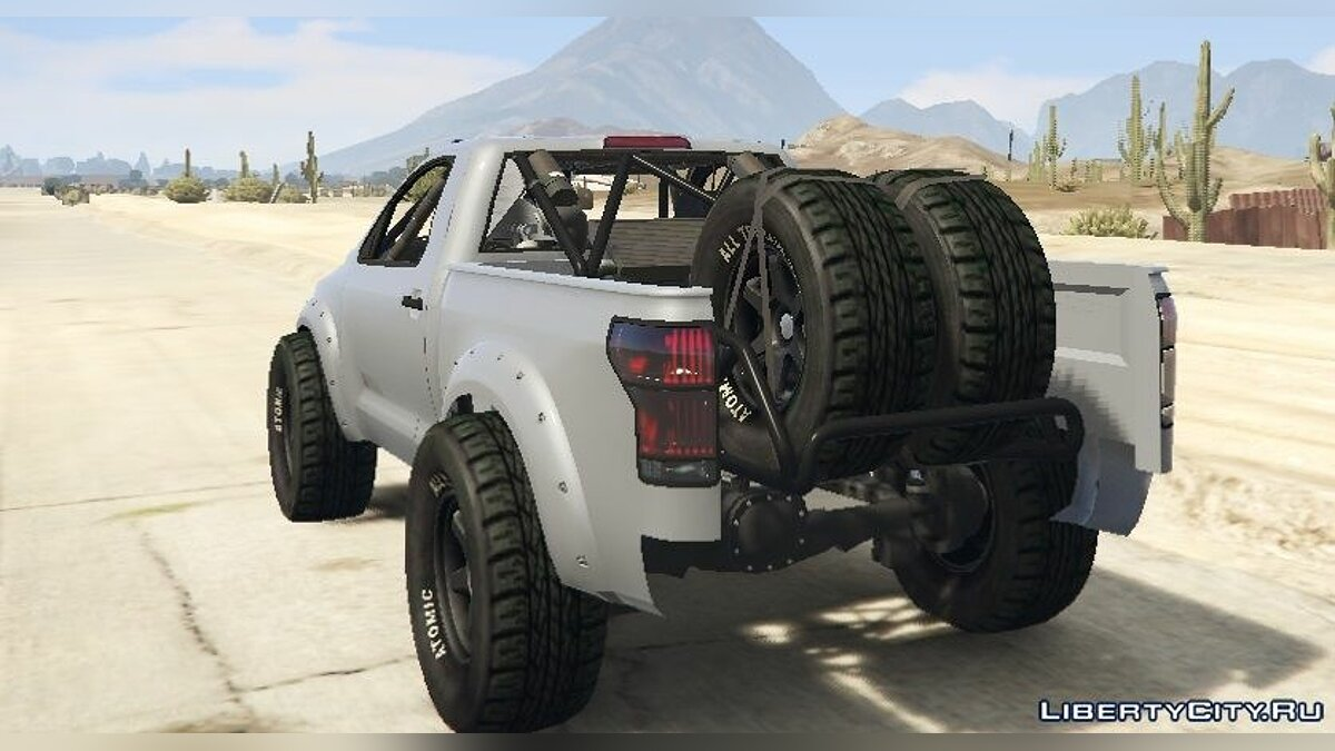 Contender Trophy Truck [Replace] 1.0 для GTA 5 - скриншот #4