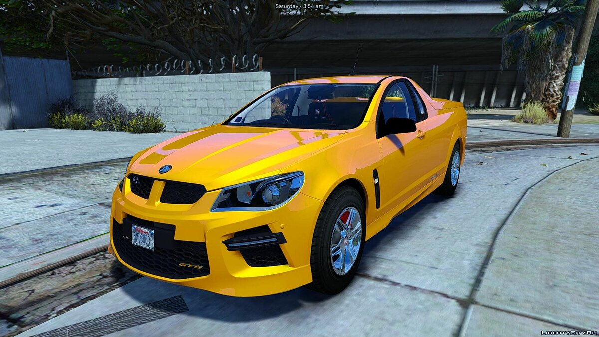 HSV Limited Edition GTS Maloo (Add-on/Replace/Extras) 1.0 для GTA 5