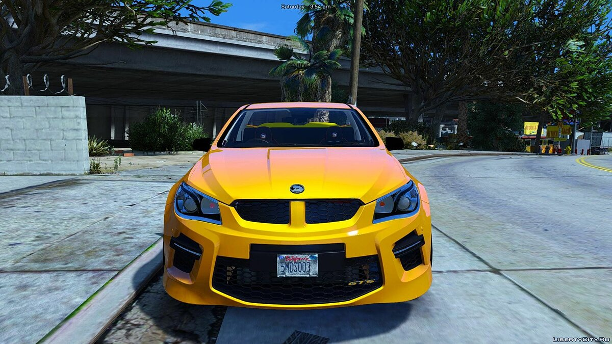 HSV Limited Edition GTS Maloo (Add-on/Replace/Extras) 1.0 для GTA 5 - скриншот #2