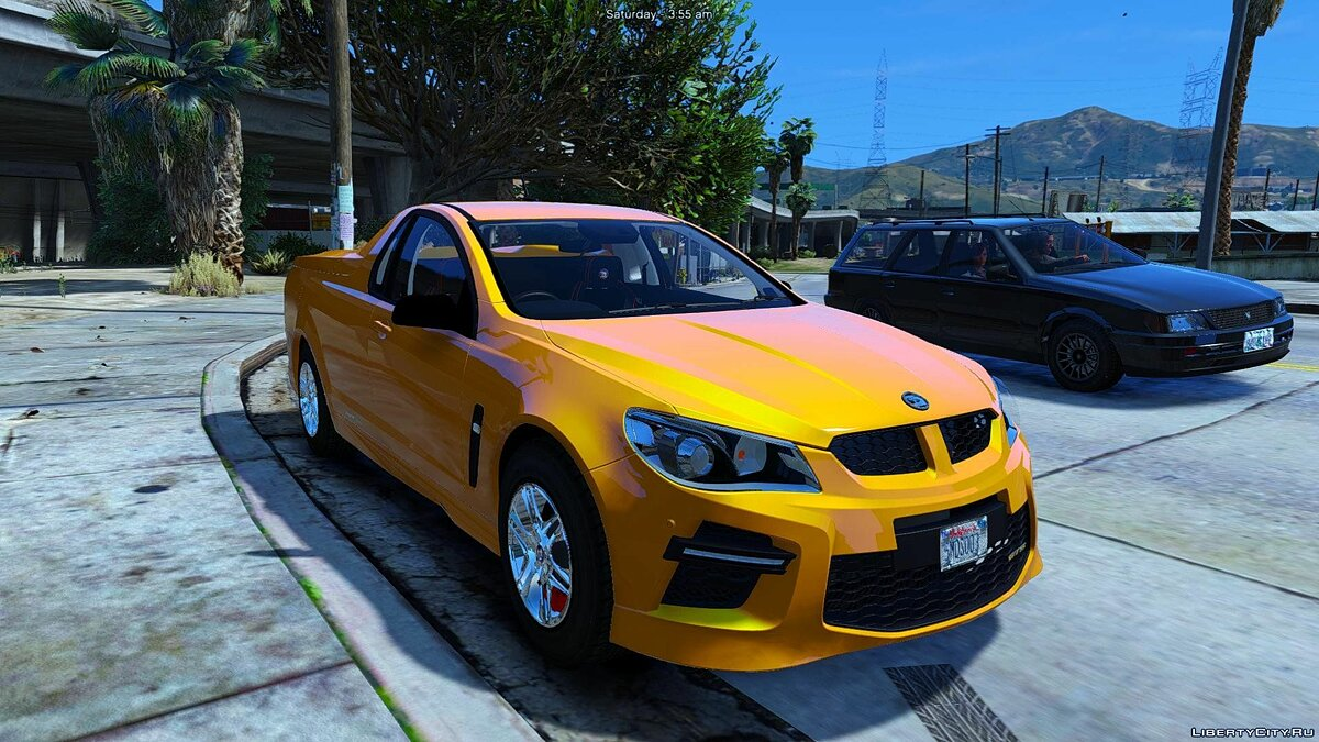 HSV Limited Edition GTS Maloo (Add-on/Replace/Extras) 1.0 для GTA 5 - скриншот #3