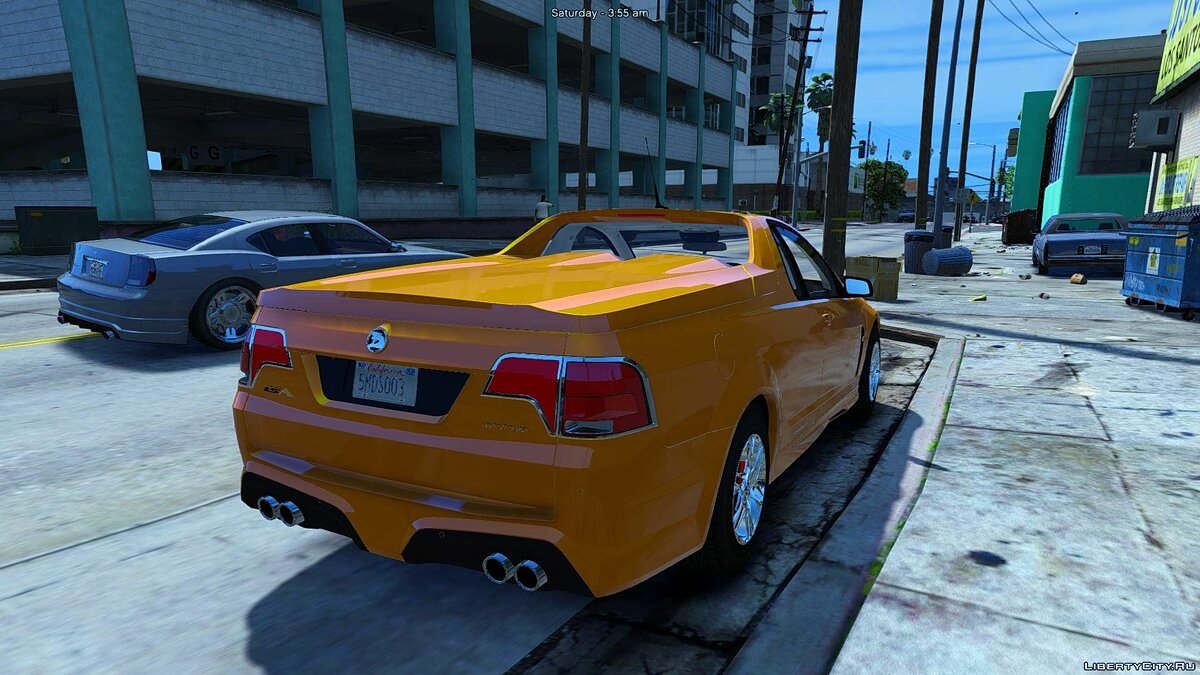 HSV Limited Edition GTS Maloo (Add-on/Replace/Extras) 1.0 для GTA 5 - скриншот #4