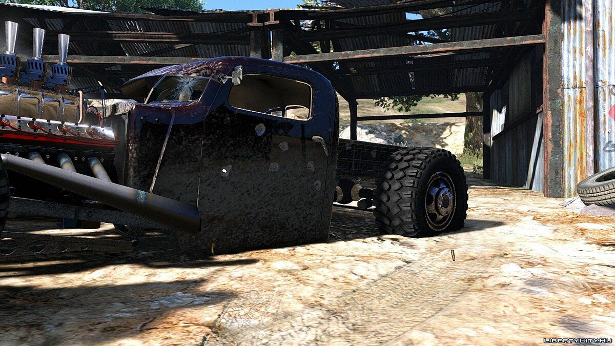 Dumont Type 47 Rat Rod 1.0 для GTA 5 - скриншот #3
