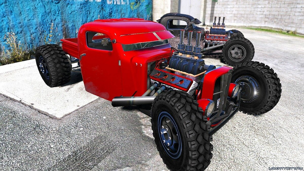 Dumont Type 47 Rat Rod 1.0 для GTA 5