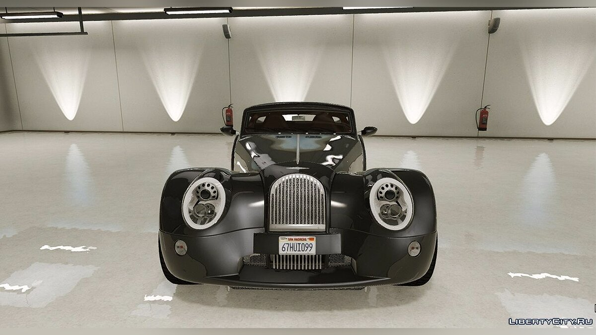 Машина 2010 Morgan Aero SuperSports [Add-On / Replace] 1.5 для GTA 5