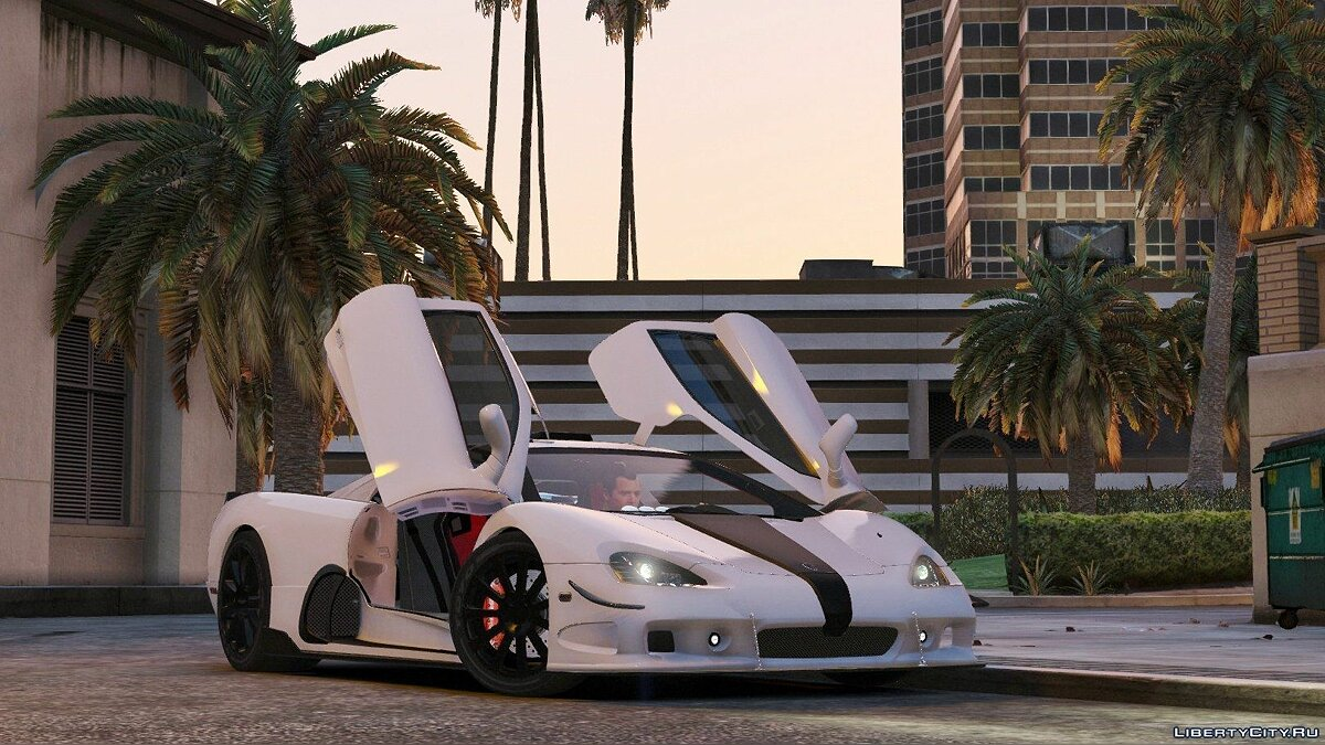 SSC Ultimate Aero [Add-On / Replace + Tuning] 1.1 для GTA 5