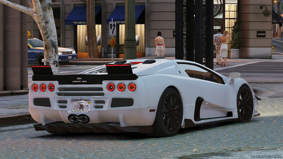 SSC Ultimate Aero [Add-On / Replace + Tuning] 1.1 для GTA 5 - скриншот #5