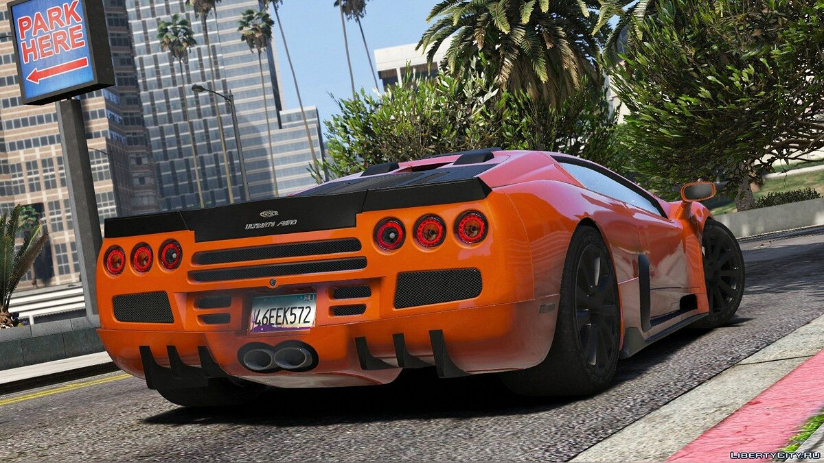 SSC Ultimate Aero [Add-On / Replace + Tuning] 1.1 для GTA 5 - скриншот #4