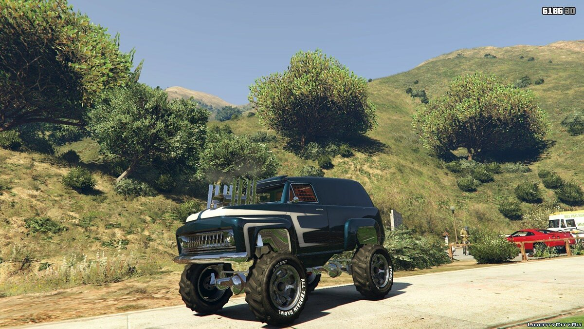 Off-Road Slamvan Supermod 0.98 для GTA 5 - Картинка #1