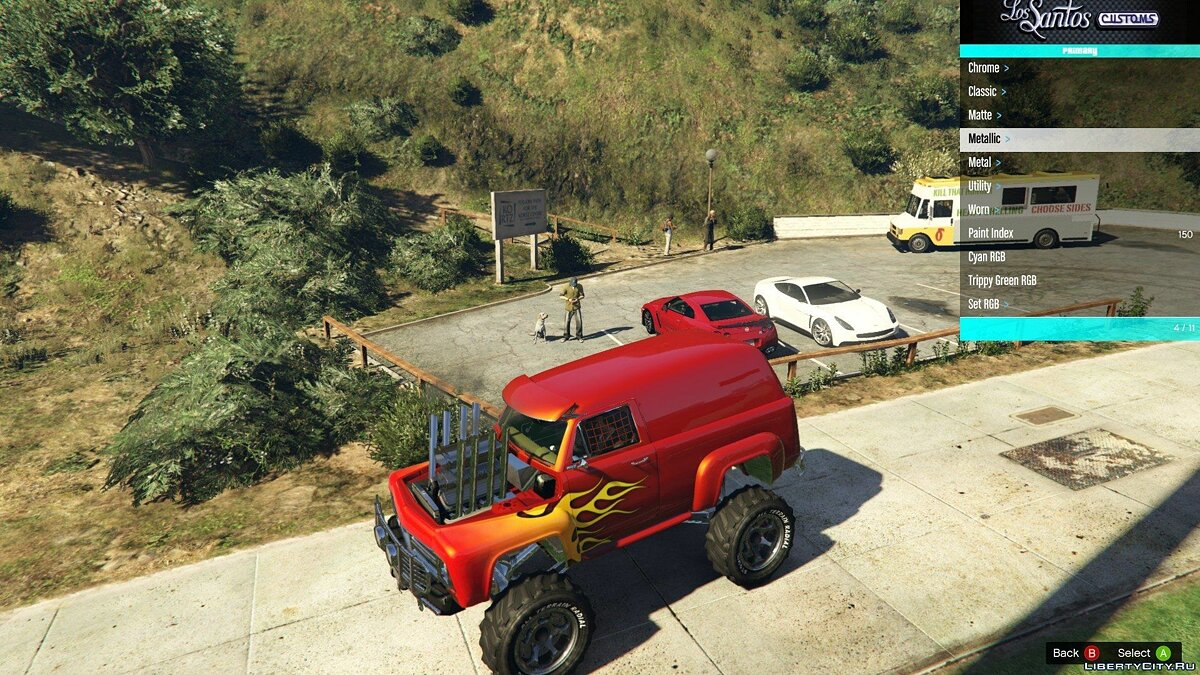 Off-Road Slamvan Supermod 0.98 для GTA 5 - Картинка #2